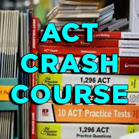 ACT Crash Course on Zoom