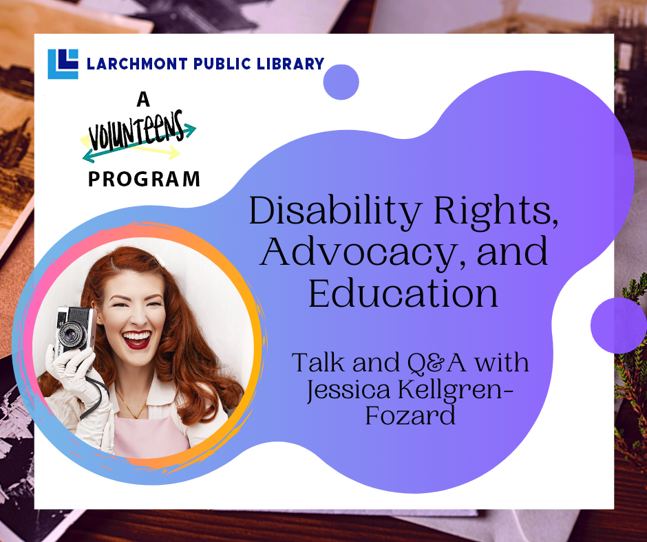 Volun-teens: Disability Rights & Advocacy on Zoom