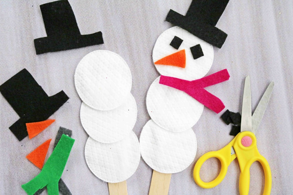 Take Home Craft of the Week- B.Y.O.S. (Build Your Own Snowman)