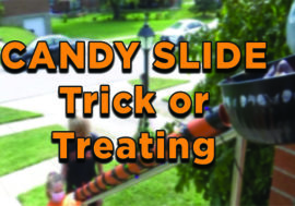 Candy Slide Trick-or-Treating