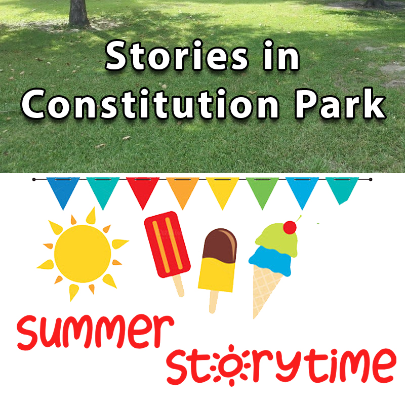 Stories in Constitution Park - Summer Storytime