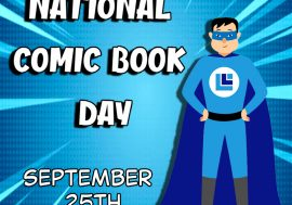 September 25th is Comic Book Day!