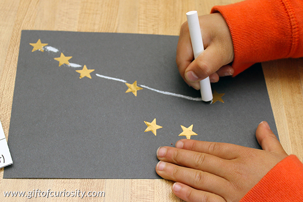 Take-Home Craft of the Week = Twinkling Constellation