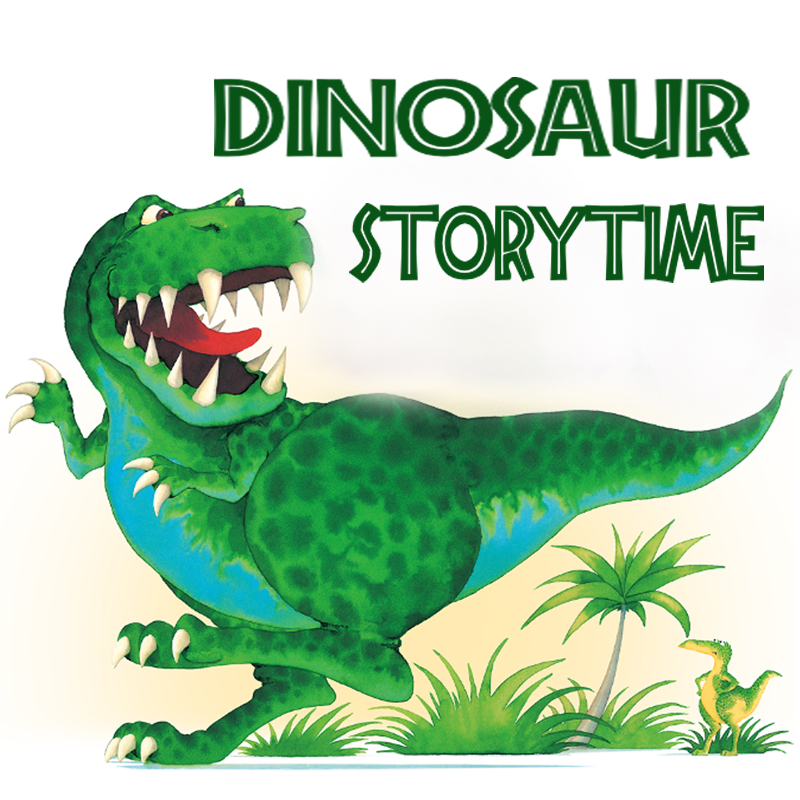 Dinosaur Storytime with Erin on YouTube
