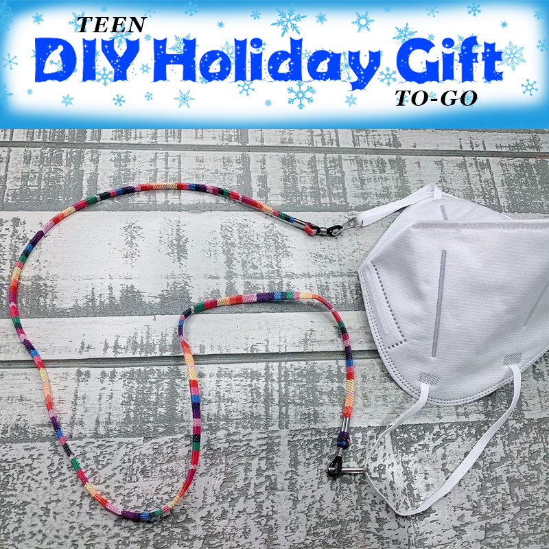 DIY Holiday Gift-to-Go: Mask Lanyard
