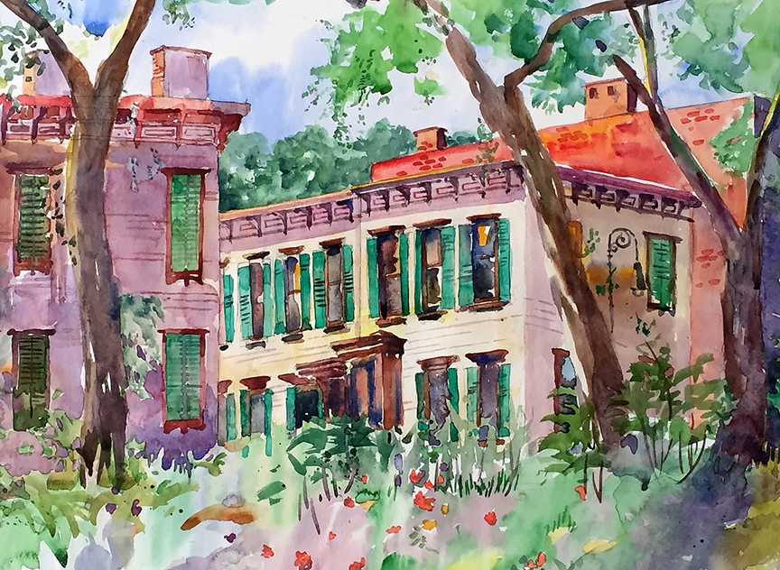 A PLACE TO REMEMBER – Watercolor Landscapes by Emily Stedman