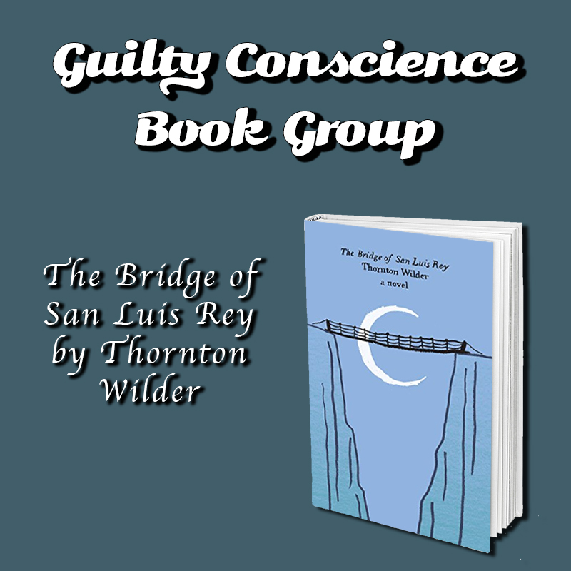 Guilty Conscience Book Group with Liam Hegarty on Zoom