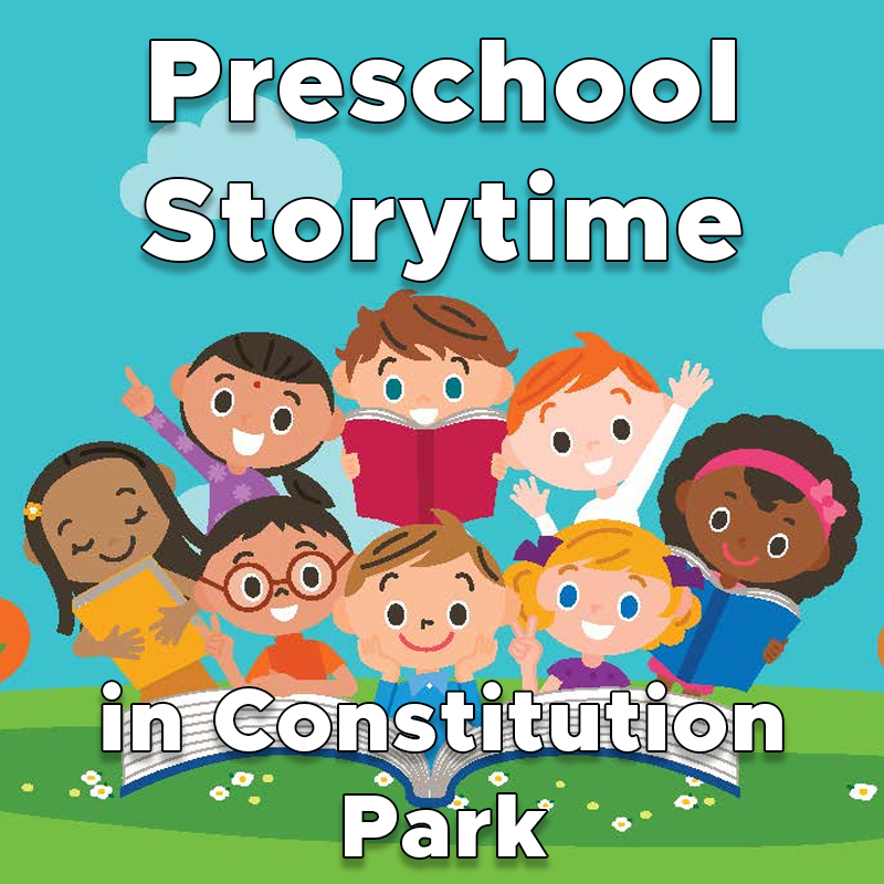 Preschool Storytime in Constitution Park with Rebecca