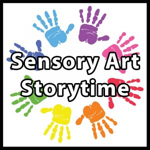 Sensory Art Storytime on Zoom