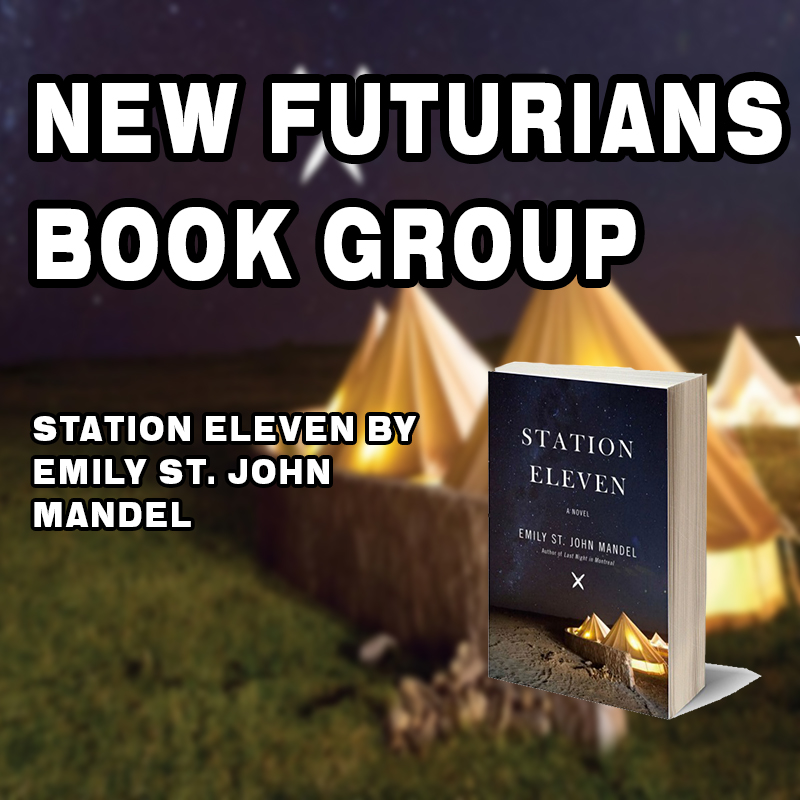 NEW FUTURIANS BOOK GROUP with Liam Hegarty on Zoom