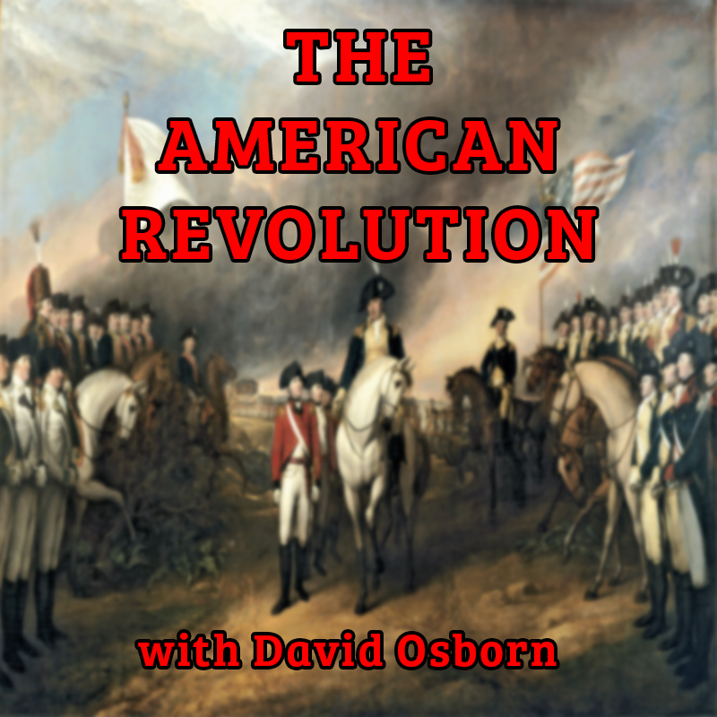 The American Revolution with David Osborn live on Zoom