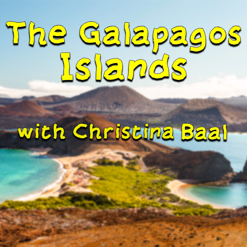 The Galapagos Islands with Christina Baal on Zoom