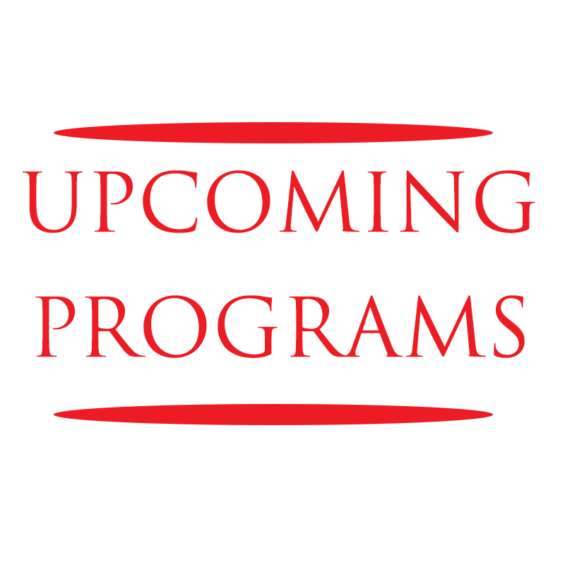 Upcoming Programs December 21st to January 3rd