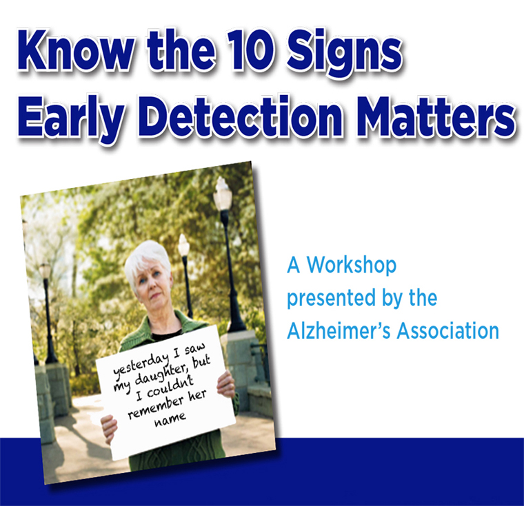 Know the 10 Signs: Early Detection Matters