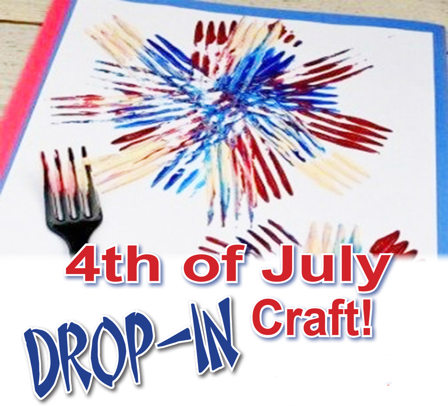 Fourth of July Drop-in Craft