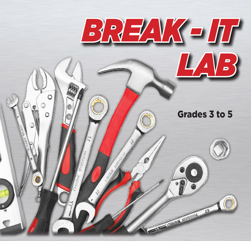 Break-It Lab - EVENT FULL