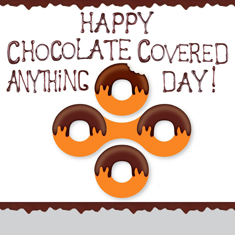 Wild & Wacky Holiday Storytime: Chocolate-Covered Anything Day