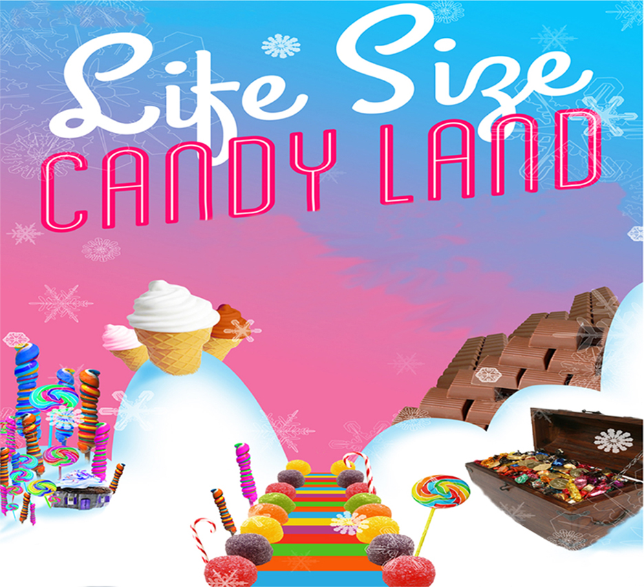 Life-Size Candyland - EVENT FULL
