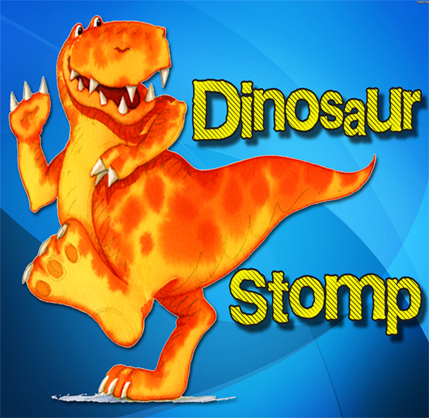 Dinosaur Stomp: 2 & 3 year-olds - EVENT FULL