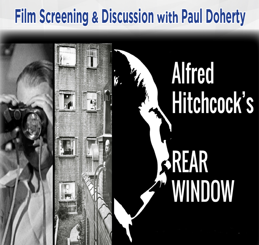 Film Screening & Discussion with Paul Doherty: Rear Window