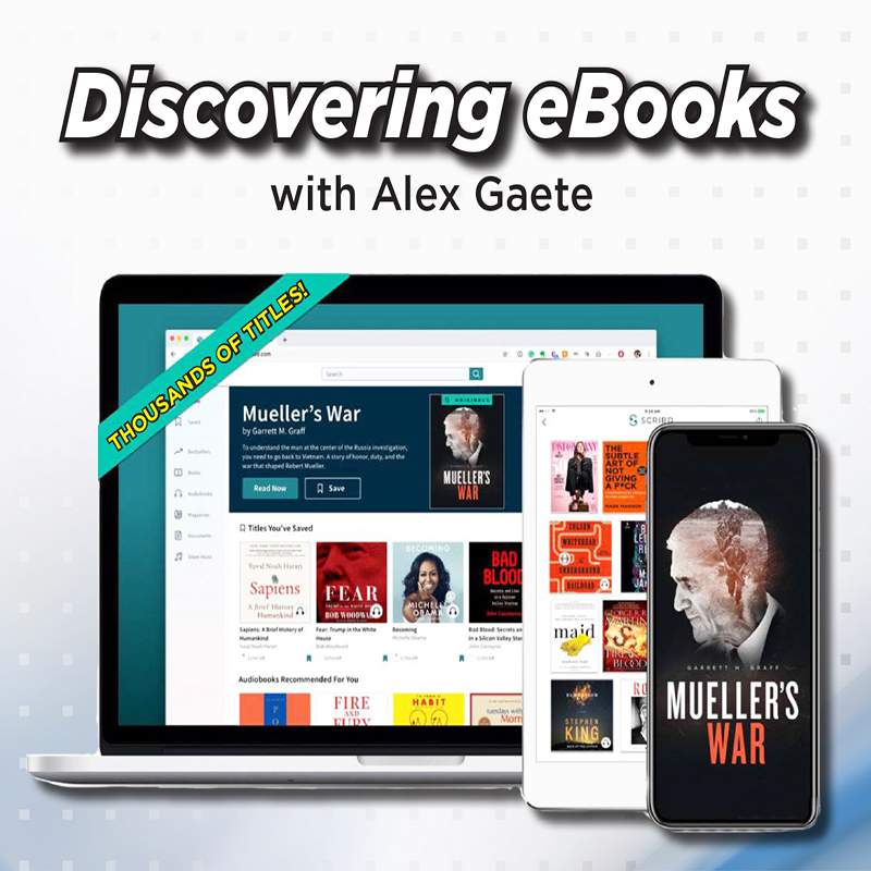 Discovering eBooks with Alex Gaete