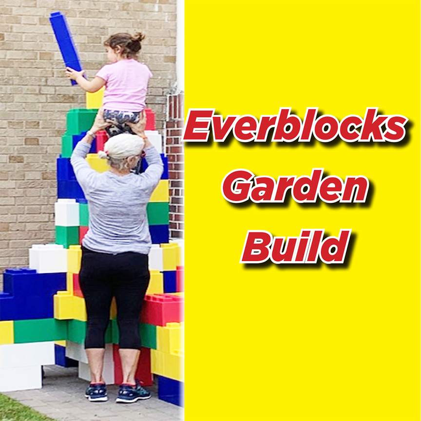 Everblocks Garden Build