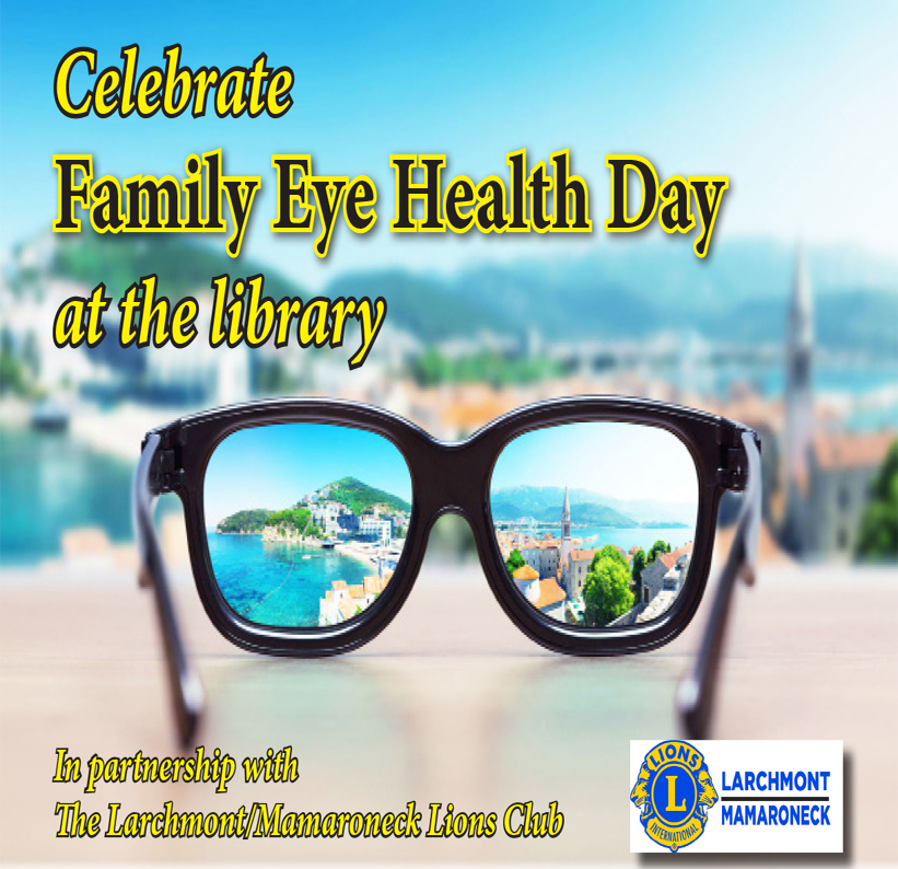 Free Eye Exams at the Library