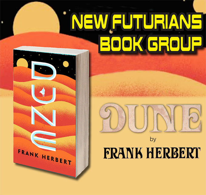 New Futurians Book Group with Liam Hegarty