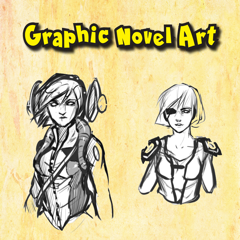 Graphic Novel Art