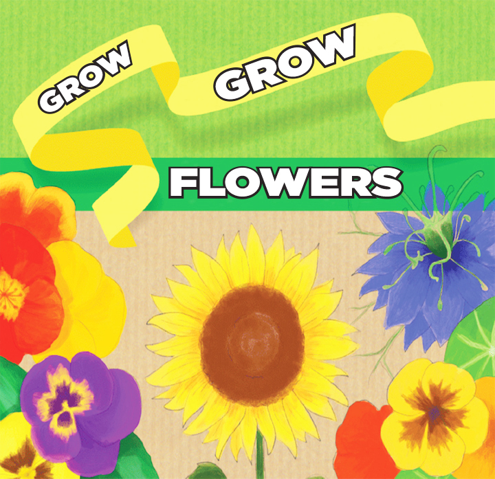 Itty Bitty Book Group: Grow, Flowers, Grow!