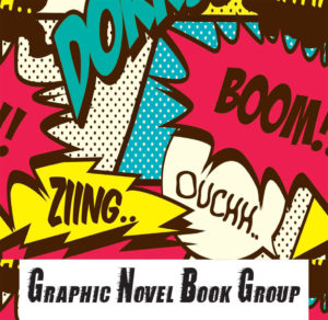 The Return of Graphic Novel Book Group in Ryder's Garden