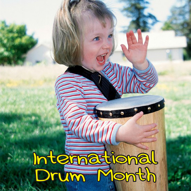 Wild & Wacky Holiday Storytime: International Drum Month