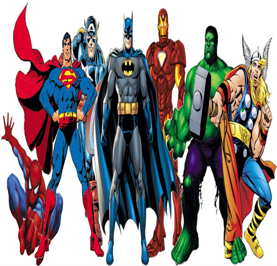 Itty Bitty Book Group: Superheroes