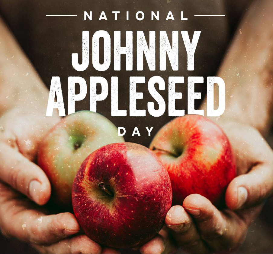 Weirdly Wonderful Storytime: Johnny Appleseed Day - EVENT FULL