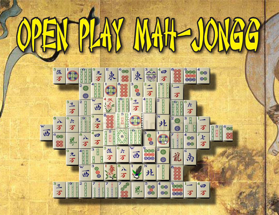 Open Play Mah Jongg