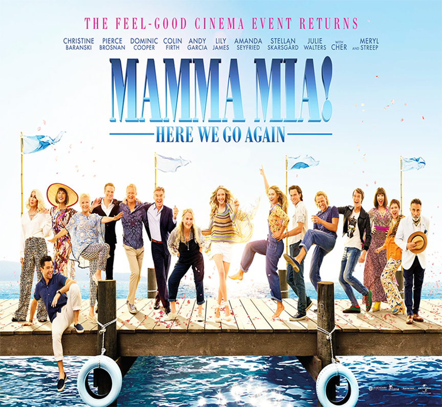 New Movie of the Month: MAMA MIA! HERE WE GO AGAIN