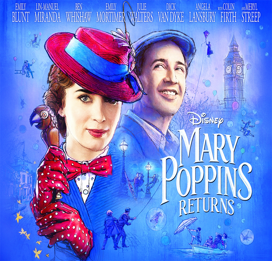 New Movie of the Month: Mary Poppins Returns
