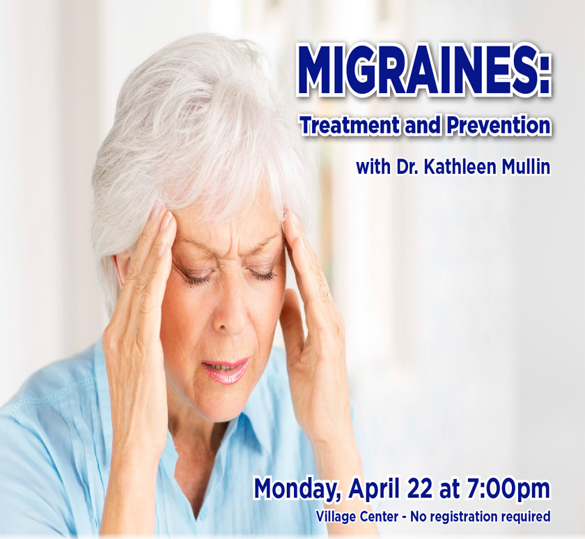 Migraines: Treatment and Prevention with Dr. Kathleen Mullin