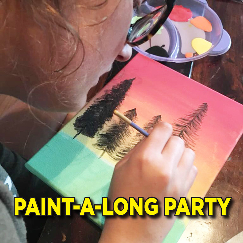 Paint-A-Long Party