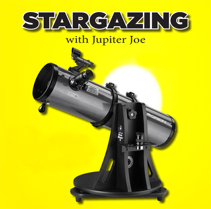 Stargazing with Jupiter Joe