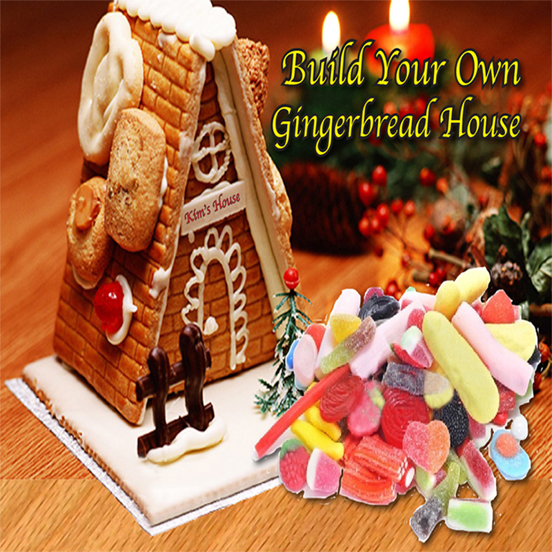 Gingerbread Houses - ACTIVITY FULL