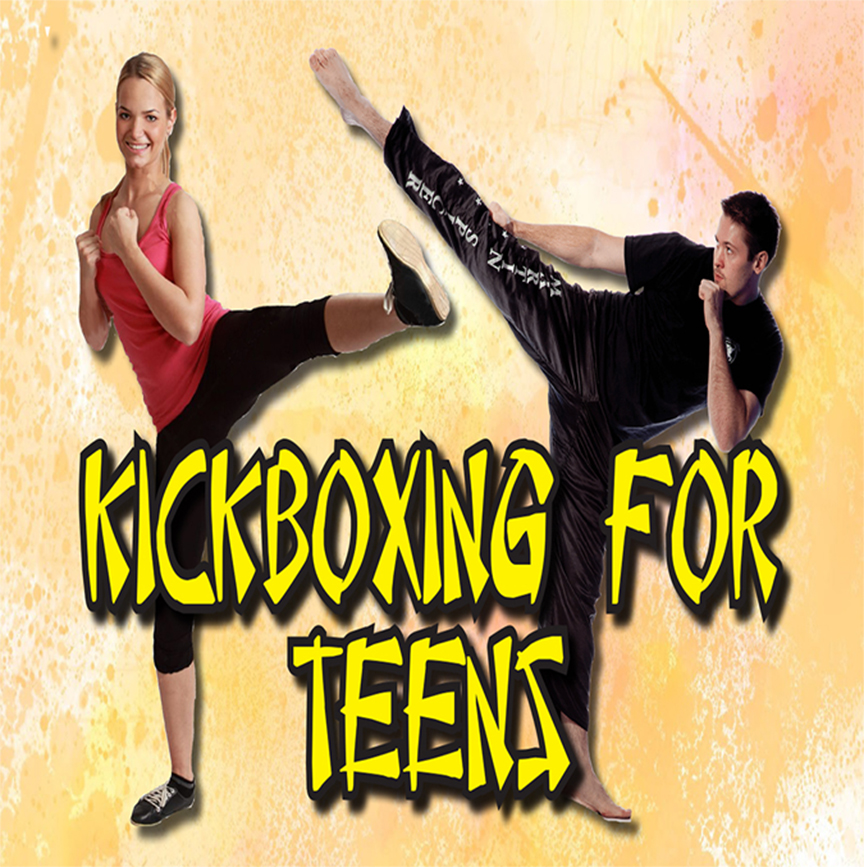 Kickboxing for Teens with Tarsha