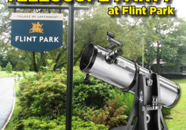 Telescope Party in Flint Park Now on Saturday, Sept. 7