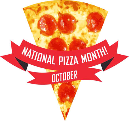 Image result for national pizza month 2018