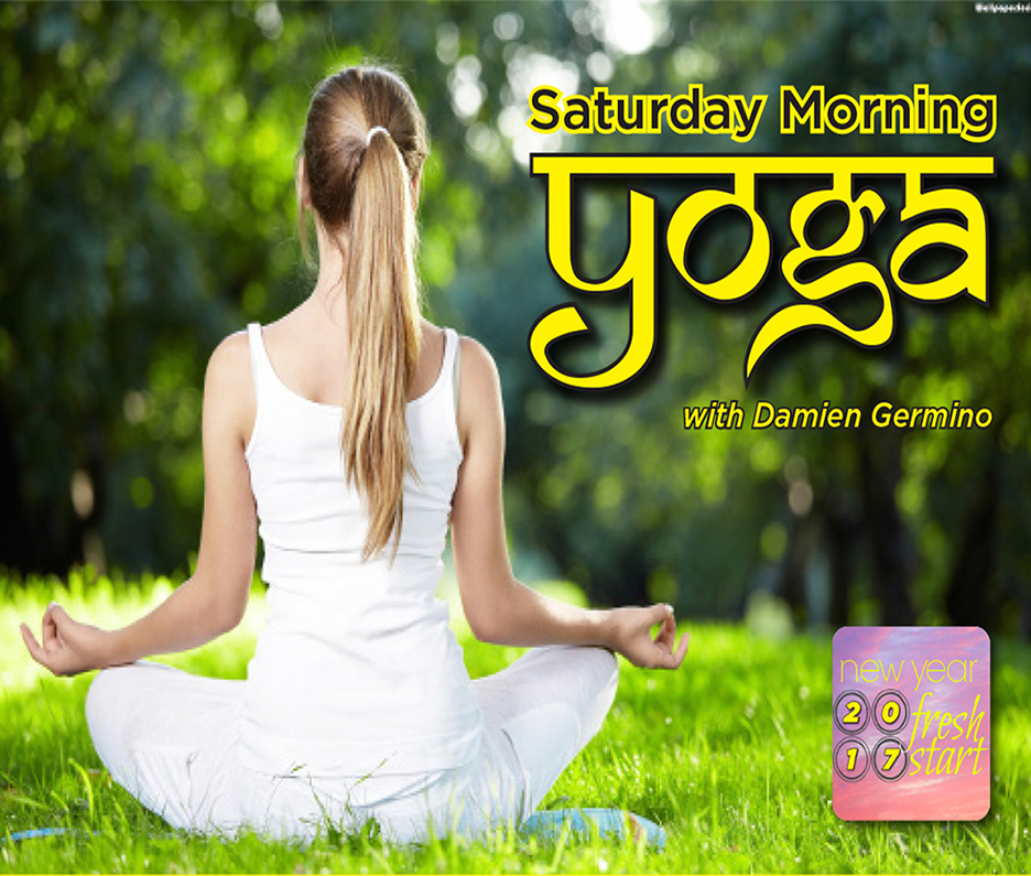 Saturday Yoga with Damien Germino