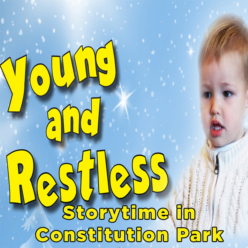 Young and Restless Storytime in Constitution Park