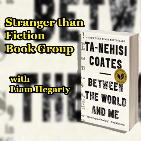 Stranger Than Fiction Book Group with Liam Hegarty on Zoom