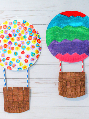 Take-Home Craft of the Week- Hot Air Balloon
