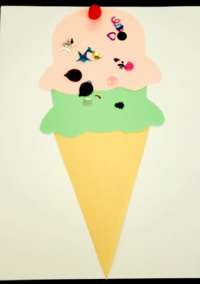 Take-Home Craft of the Week- We all scream for Ice Cream!