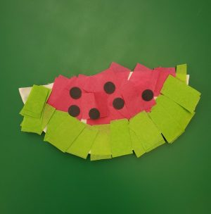 Take-Home Craft of the Week- Watermelon
